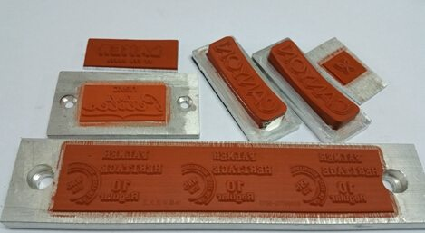 Silicon Hot Stamping Dies